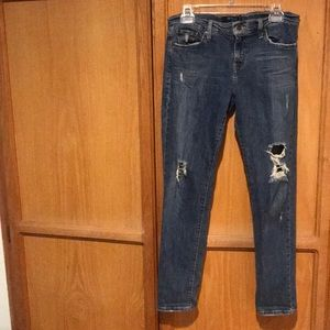 Levi's 513 boyfriend jeans